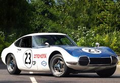 First Ever Japanese Racing Car in the US..Shelby Toyota 2000GT