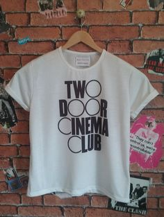 Woman's Two Door Cinema Club Indie t by BADYOUTHTEES on Etsy