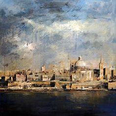 Ricardo Galán Urréjola Abstract Landscape Painting, Abstract Wall Art, Acrylic Painting Canvas, Landscape Paintings, Landscapes, City Landscape, Urban Landscape, New York Painting, Amadeus Mozart