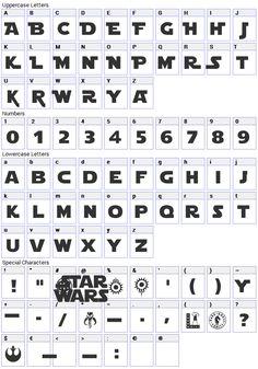 Star Jedi Font Download (Star Wars Font) - Fonts4Free