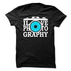 I Love Photography T Shirts, Hoodies. Check price ==► https://www.sunfrog.com/Hobby/I-Love-Photography-.html?41382 $22