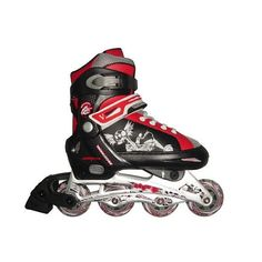 Mongoose Skate Boys - Small (Black and Red)  - Mongoose 1003056 -  In-Line / Roller Skates - FAO Schwarz®