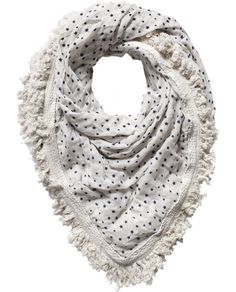 Fringed scarf - Accessories - Scotch & Soda Online Shop