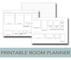 I am so excited to share these printable room planners with you today! But first, I have to tell you that most of the credit goes to my amazing husband because I would have given up long before finishing these printables if it wasn't for his help. He's the real decorator, designer and Photoshop expert …