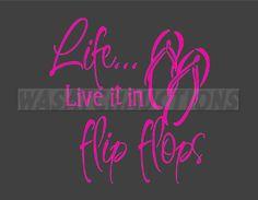 <3 my flip-flops!