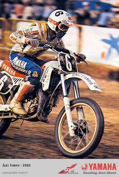 Jacky Vimond # 1983 # motocross