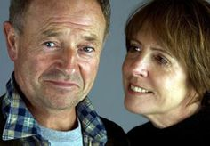 """Michael Kitchen & Penelope Wilton in """"Falling"""". He plays a not-so-nice guy....."""