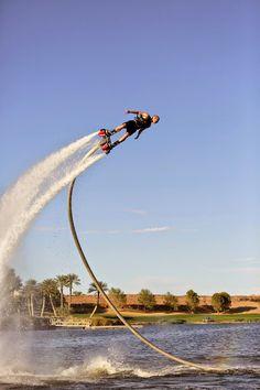 Flyboard Las Vegas // Best things to do in Las Vegas Off Strip