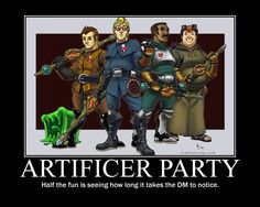 Artificers posted by Drascin