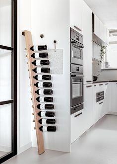 Home Office Design, Interior Design Kitchen, Interior Decorating, House Design, Metal Sheet Design, Staircase Storage, Kirkland Home Decor, Wine Shelves, Home Bar Designs