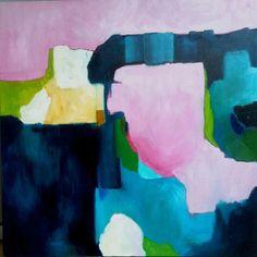 Original large abstract painting by Sarina by SarinaDiakosArt