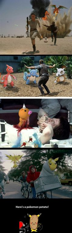 Pokemons in famous movies!