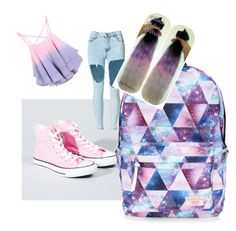 """""""Untitled #302"""" by pound2lafreek on Polyvore featuring Converse and Accessorize"""