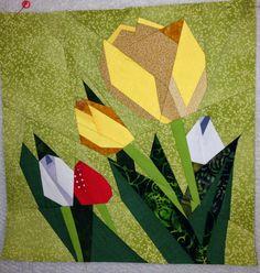 Quilt Art Designs: July BOM '14