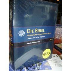 German MP3 Audio BIBLE on 5 MP3-CDs / Die Bibel nach der Ubersezung Martin Luthers - Gelesen von Reiner Unglaub / Gesamtspieldauer uber 84 Stunden  $194.99