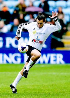 Harry playing in Niall's charity football game