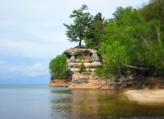 Vote for your Ultimate Michigan Bucket List. We came up with three dozen quintessential Michigan experiences. Pictured Rocks National Lakeshore, Picture Rocks, Island Park, Lake Huron, Michigan Travel, Upper Peninsula, Trip Advisor, Things To Do, Places To Go