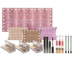 The Mally Celebrate Your Beauty Holiday Color Collection is December's QVC Today's Special (TSV) and includes a slew of beautiful makeup to prepare you Mally Beauty, M Beauty, Luxury Beauty, Beauty Hacks, Beauty Stuff, Beauty And The Best, Beauty First, Mally Cosmetics