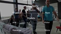 """A las puertas de presentar la colección 2016, os dejamos el vídeo del """"Making Of"""" de la sesión de fotos de la colección 2015."""