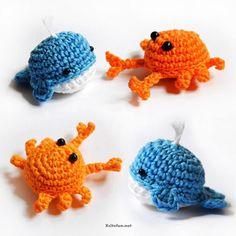 морские игрушки Beautiful Yarn  Art