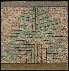 Paul Klee - Pine tree