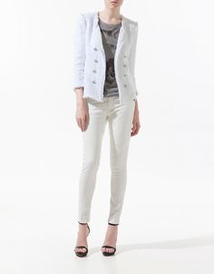 FANTASY FABRIC BLAZER - Blazers - Woman - ZARA United States