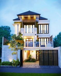 Best Modern Home Architectural Styles and Designs. Find out what style of home you like best.Most people like several home architectural styles. Small House Exteriors, Dream House Exterior, Dream House Plans, Small House Plans, Architectural Styles, Dream Home Design, Modern House Design, Style At Home, Philippine Houses