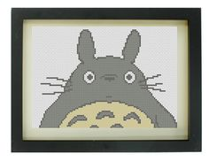 Totoro Cross Stitch Pattern. £1.75, via Etsy.
