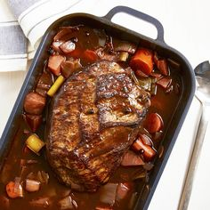 easiest Christmas roast in the world - The best GU recipes with quality guarantee: Classic braised beef Salmon Recipes, Beef Recipes, Snack Recipes, Cooking Recipes, Easy Recipes, Recipies, Healthy Recipes, Easy Smoothie Recipes, Easy Smoothies