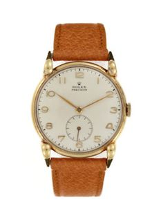 Rolex leather