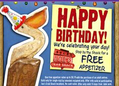 Birthday Freebies and Coupons List 2014 (Restaurants & Fast Food Places) - Sassy Dealz