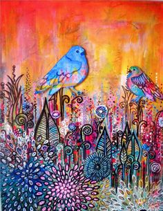 Awakening…doodles and birds -insightsandbellylaughs.xom