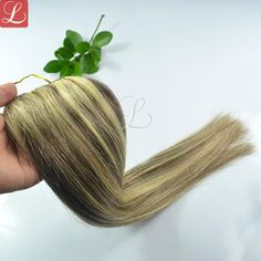 Mix Color 2 And 613 Human Hair Weave Top Quality Extension SaleHuman