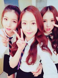Sowon, SinB, and Eunha