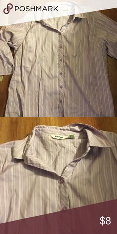 Long sleeve purple shirt In good condition krazy kat  Tops Button Down Shirts