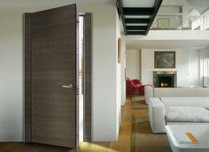 Security Door - model Wing - Loft probably has the best doors you've seen. Security Doors, Loft House, Entrance Doors, Minimal Design, Tall Cabinet Storage, Minimalism, Wordpress, Interiors, Furniture