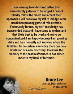 ULTIMATE FAV QUOTE Bruce Lee Quotes |