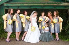 Yellow And Gray Wedding Ideas   Yellow and Gray Wedding Ideas, Yellow Wedding Shoes & Bouquets  