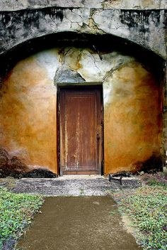 Mission San Juan Door, San Antonio, Texas by crowt59, via Flickr