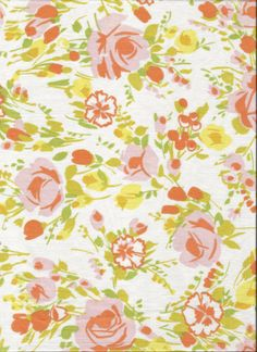 ONE Sweet Vintage Sheet Fat Quarter, Vintage Sheet, Vintage Fabric, Shabby Chic, Sewing Supplies, Quilting Supplies, YOF14 via Etsy