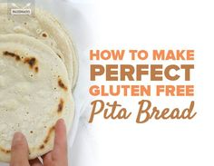 Soft, warm pita bread made with 5 gut-friendly ingredients.
