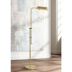 Brass Finish Pharmacy Floor Lamp - #08600   www.lampsplus.com