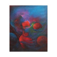 NOVICA Original Abstract Oil Painting Signed Peru (47.820 RUB) ❤ liked on Polyvore featuring home, home decor, wall art, abstract paintings, paintings, spanish home decor, spanish paintings, galaxy paintings, novica and novica paintings