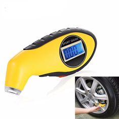 Sedeta/® mini Tire Air Pressure Tester with LCD Tyre Wheel Air Pressure Gauge reader Keychain for driver