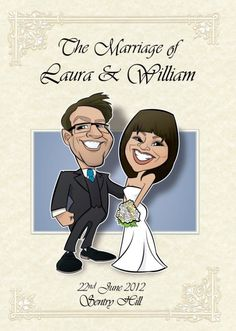 Studio Wedding Caricature