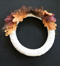 Summer is winding down, and while you are nesting for the colder weather, you can make a Dollar Store Fall Wreath. You will welcome fall at your door with this dollar store craft idea without cleaning out your wallet.