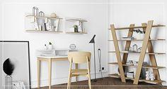 Birou modern - Vivre Ladder Bookcase, Bern, Office Furniture, Skagen, Shelves, Storage, Home Decor, Store Shelving, Living Room Modern