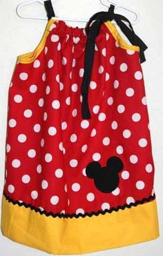 @Megan Ward Ward Ward Brewer  - Emma needs this pillowcase dress for her first visit to Disneyland :)  You're the one who knows how to sew ;)
