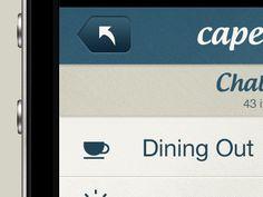 new iphone app design