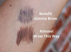 BEAUTY & LE CHIC: The £2.99 Gimme Brow Dupe?
